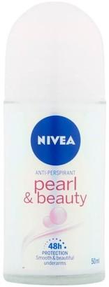 Nivea Pearl & Beauty Anti-Perspirant Roll-On Deodorant 50Ml