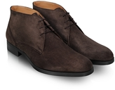 Moreschi Stiria - Dark Brown Suede Ankle Boots