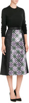 Mary Katrantzou Sequin Embellished Midi Skirt