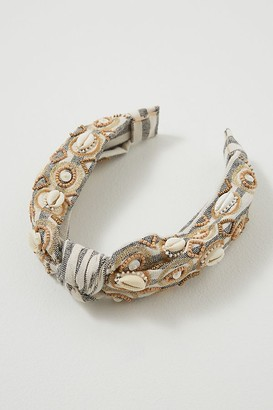Shell Embellished Headband