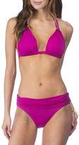 Lauren Ralph Lauren Solid Mold Cups Bikini Top