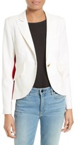 Smythe Women's Racing Stripe Blazer