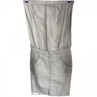 Diesel Black Gold Grey Denim - Jeans Dress for Women