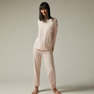 Love & Lore Love And Lore Azalea Pajama Set Rose Stripe Large