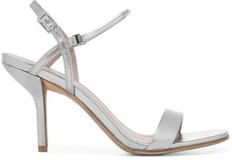 Diane von Furstenberg Frankie Metallic Leather Sandals