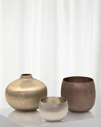 John-Richard Collection Mint Artisan Vases, Set of 3