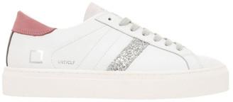 D.A.T.E Vertigo Calf Wh-Pink Sneaker