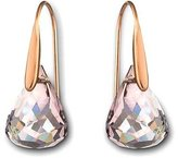 Swarovski Lunar Crystal Blush Pierced Earrings