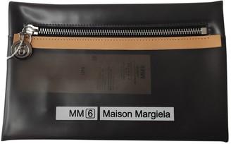 Maison Margiela Black Plastic Clutch bags