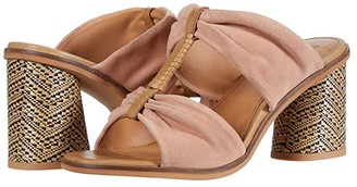 Frye Leiah Bow Mule (Amber Suede) Women's Shoes