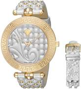 Versace Women's VK7200014 Vanitas Analog Display Swiss Quartz Gold Watch