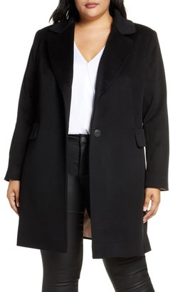 Fleurette Notch Collar Coat