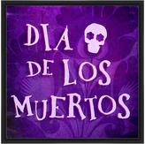 PTM Images Purple & White 'Dia De Los Muertos' Framed Giclée Print