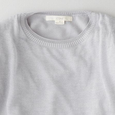 Steven Alan O'2ND metallic lace sweater