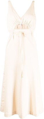 Alice McCall Cut-Out Drawstring Waist Dress