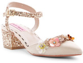 Betsey Johnson Ettah Block Heel Floral Sandal
