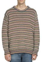 Stella McCartney Wool-Blend Crewneck Striped Sweater