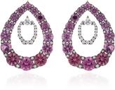 Nikos Koulis Lingerie Pink Spinel Earrings