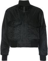 Nili Lotan front pocket bomber jacket - women - Cotton/Nylon - XS