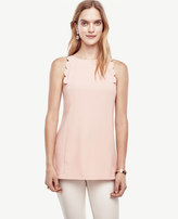 Ann Taylor Scalloped Shell