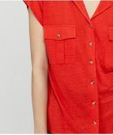 Monsoon Leena Linen Button Down Shirt