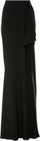 Zac Posen Floor Length Crepe Skirt