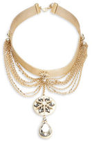 Nanette Lepore Mesh Choker Pendant Necklace