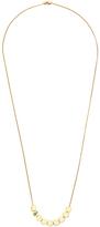 Diane von Furstenberg Gold Disc Slider Necklace