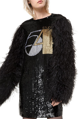 Michael Kors Sequined Shift Dress