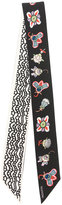Valentino printed scarf - women - Silk - One Size