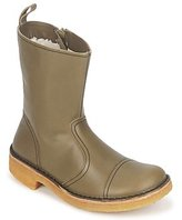 Swedish Hasbeens DANISH BOOT MILITARY / GREEN