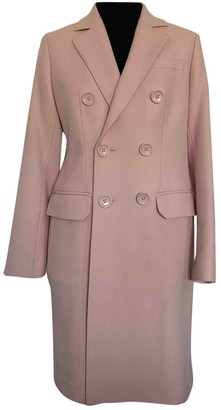 Bally Pink Cotton Coats