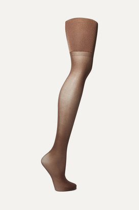Spanx Firm Believer High-rise 20 Denier Shaping Tights - Chocolate