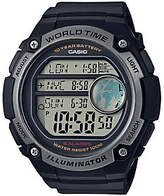 Casio Men's Black World Time Watch
