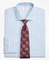 Brooks Brothers Madison Classic-Fit Dress Shirt, Non-Iron Plaid Overcheck