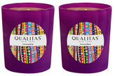 Qualitas Candles Lavender Beeswax Candles (Set of 2) (6.5 OZ)