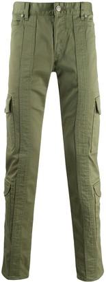 Balmain slim fit cargo pants