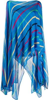 Missoni Striped-Knit Layered Top