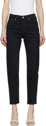 Levi's Levis Black Wedgie Icon Jeans