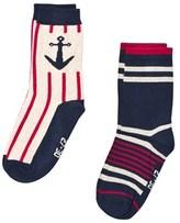 Melton 2-Pk Sock - Marine Navy