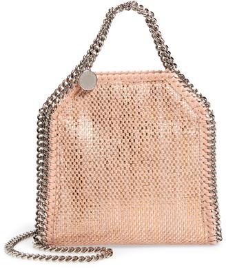 Stella McCartney Mini Falabella Metallic Chenille Shoulder Bag