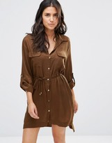 French Connection Beach Shirt Dress