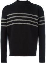 Saint Laurent stripe detail sweater