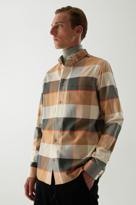 Cos Flannel Checked Shirt