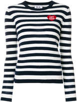 Zoe Karssen striped fitted sweater