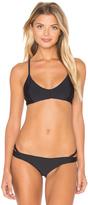 RVCA Bold Rose Cross Back Bikini Top