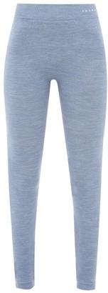 Falke Logo-print Wool-blend Leggings - Blue