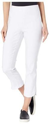 Tribal Flatten It Pull-On Capris (White) Women's Casual Pants