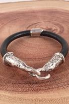 Alkemie Jewelry Black Keychain Bracelet