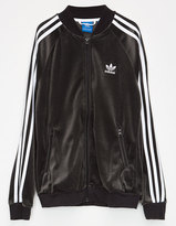 adidas Velour Girls Track Jacket